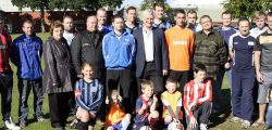 Around four years ago MP Graham Stuart along with local councillors, Cllr David Elvidge , Cllr Dominic Peacock and Cllr Elaine Aird met with a number of football teams