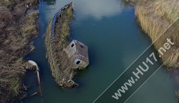 Council To Remove First Two Sunken Vessels From River Hull
