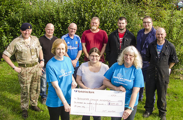 Beverley Man Raises £1,209 For Yorkshire Cancer Research