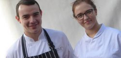 The tenth final of the Copper Saucepan Apprentice Chef of the Year competition, held on Sunday at a packed Beverley Food Festival, set two firsts