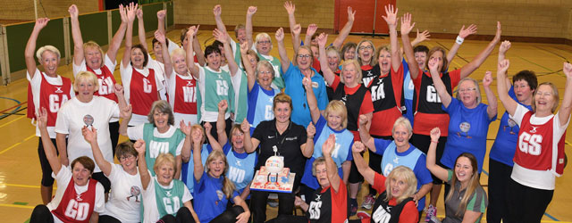 Anniversary Walking Netball Celebration