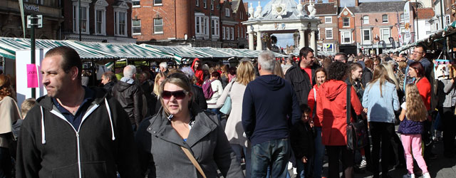 BEVERLEY FOOD FESTIVAL : Event Draws Huge Numbers Into The Town