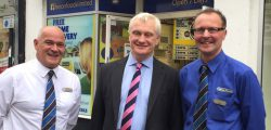 Beverley and Holderness MP Graham Stuart visited Heron Foods in Beverley last Friday 14 October.