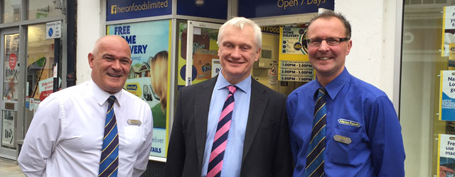 MP Visits Heron Foods, Supporting Local Businesses In Beverley