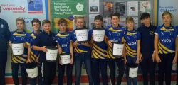 Beverley Braves Amateur Rugby League U13s team raised just short of £1000 by packing shopping at the Tesco store in Beverley.