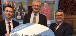 Beverley and Holderness MP Graham Stuart last week celebrated the Defibrillator Champions campaign with the Oliver King Foundation.