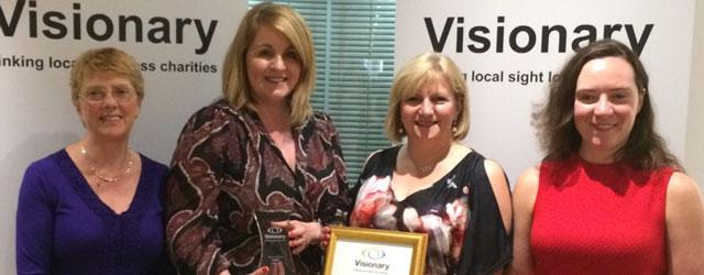 Local Charity HERIB Wins National Award