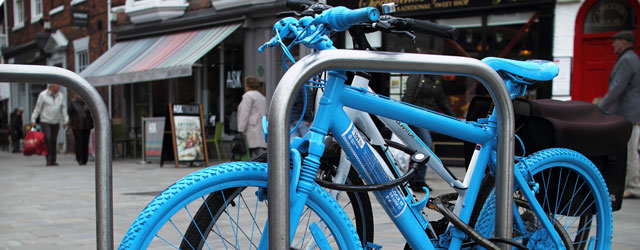 Brightly Painted Bikes Being Used To Tackle Cycle Crime