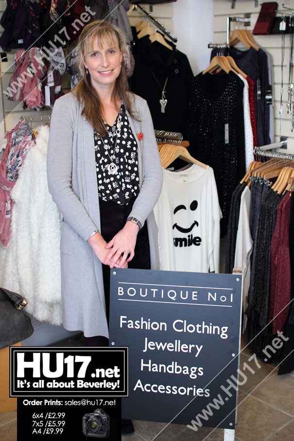 Boutique No1 : New Shop Offering Ladies Fashion Opens in Beverley
