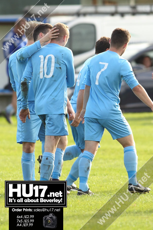 Matty Littlefield Brace Helps Town Ease To Victory