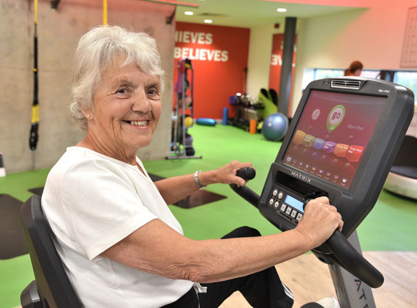 Exercise Is The Key To Staying Young At Heart Says Local Resident