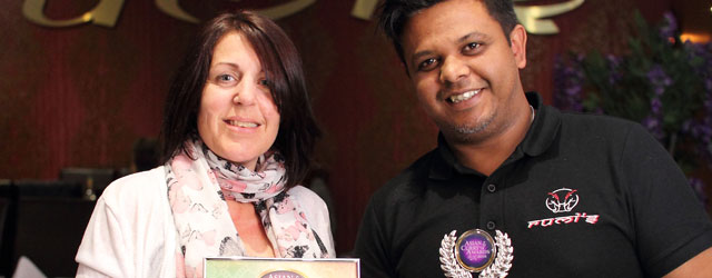 Rumi's Indian Restaurant Named Newcomer of the Year