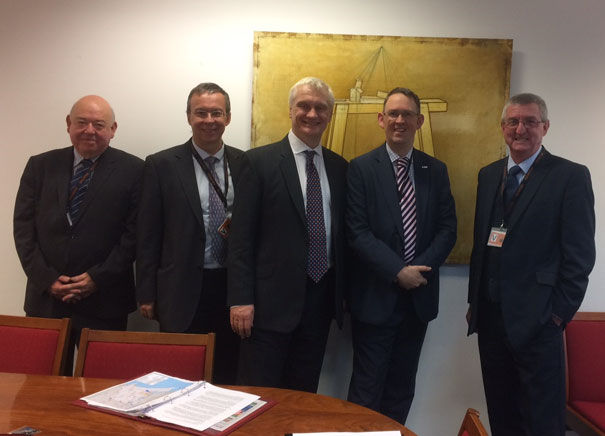 MP Facilitates Meeting Between Minster Rail Campaign Rail Minister