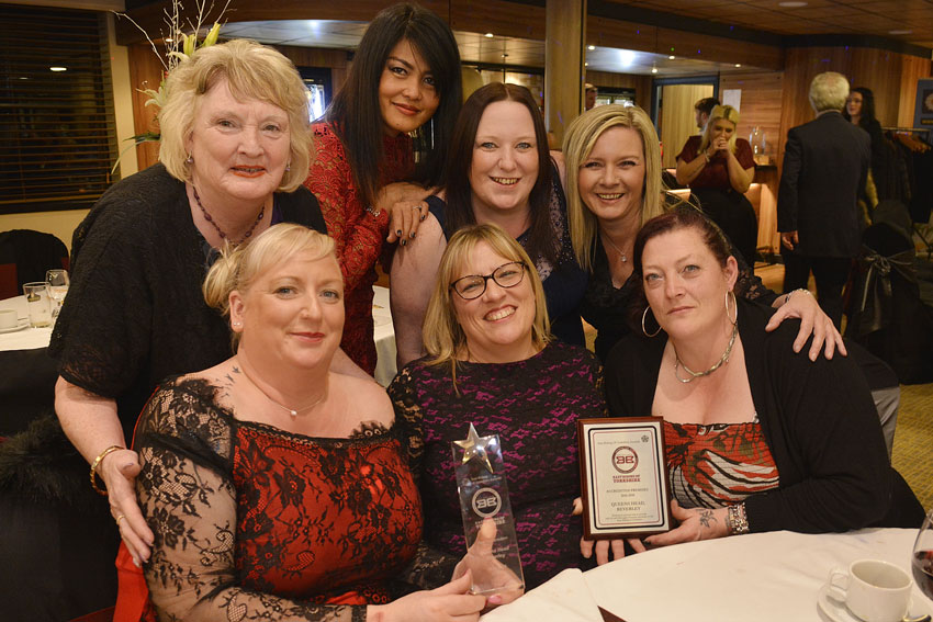 Queens Head Rated Best Independent Pub At Awards Night