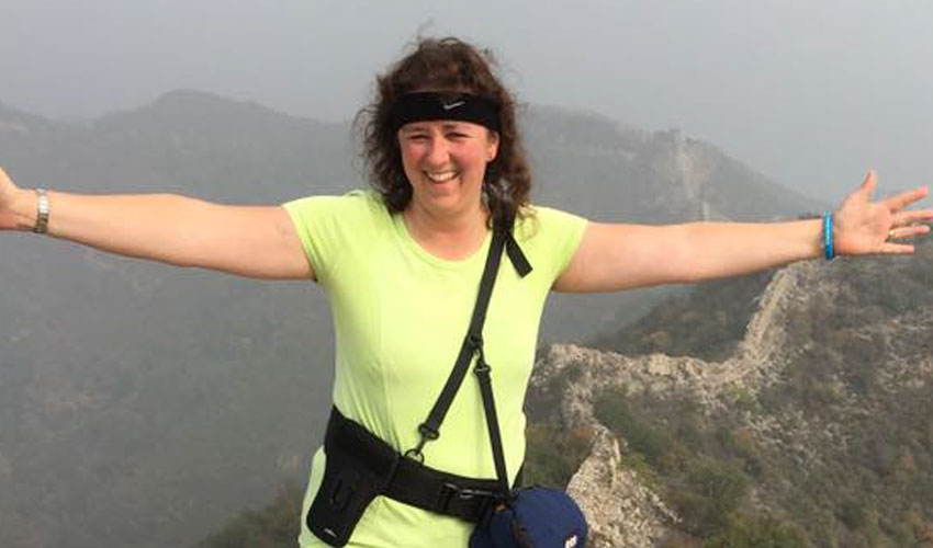 Accountant's Great Wall Trek Raises Over £4k For Alzheimer's Society