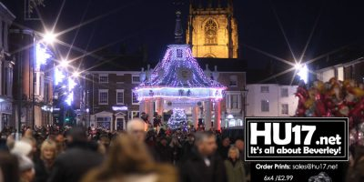 Thousands Turn Out For Beverley's Christmas Light Switch On