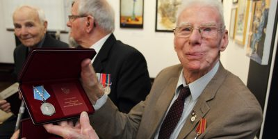 Russia Present Ushakov Medal To Arctic Convoy Heroes
