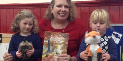 Pre-Schoolers Say Goodbye To Autumn With Local Author