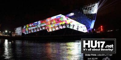 Hull UK City of Culture 2017 - Video Showing The Deep Light Show