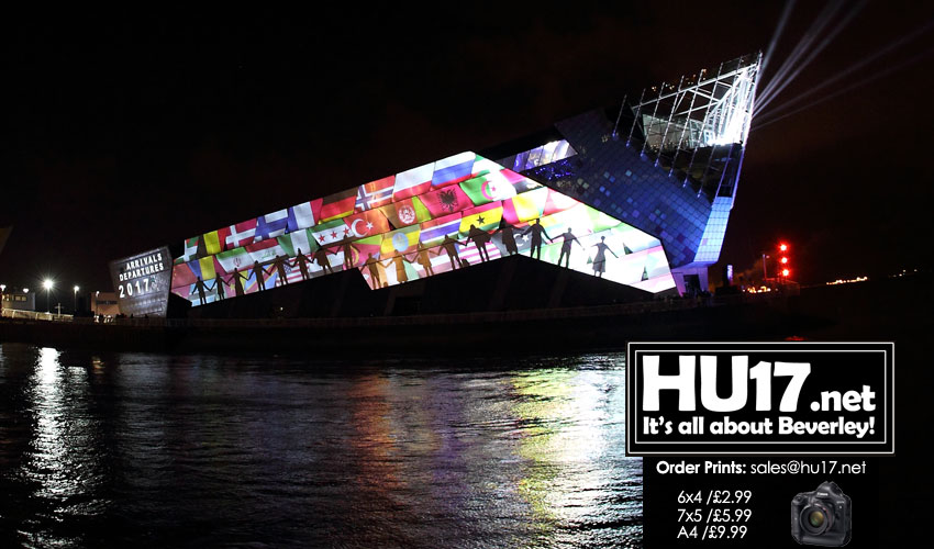 Hull UK City of Culture 2017 u2013 Video Showing The Deep Light Show & Hull UK City of Culture 2017 - Video Showing The Deep Light Show azcodes.com