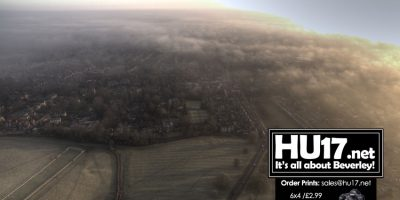 PHOTOS : Beverley Westwood From Above On A Misty Morning