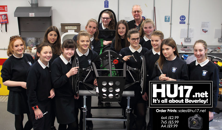 Beverley High School Embrace The GreenPower Challenge
