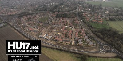 VIDEO : Molescroft Grange & New Bypass From Above