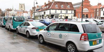 East Riding Taxis Branded With New Green and White Livery