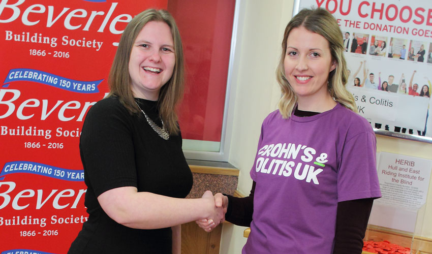 Beverley Building Society Name January Charity of the Month Winner