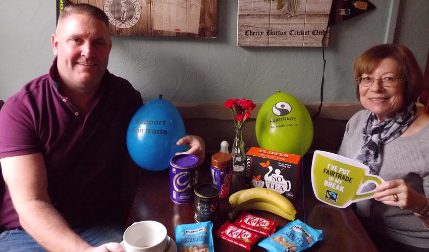 Cherry Burton And Beverley Prepare For Fairtrade Fortnight