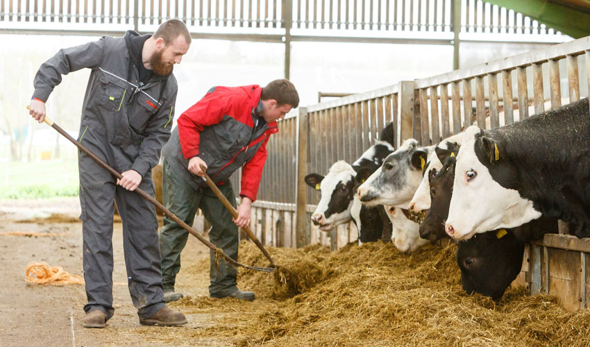 Bishop Burton College Training Yorkshire's Future Farmers
