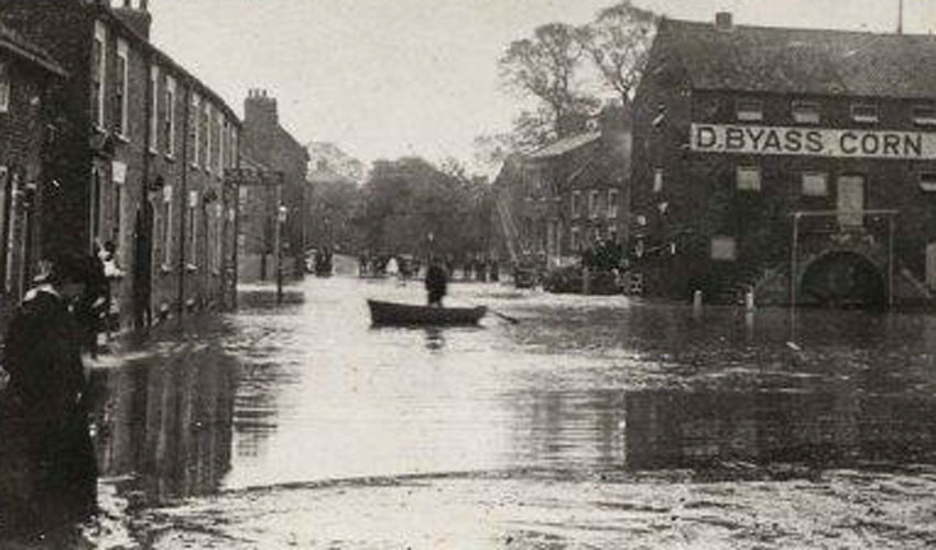 Beverley Treasure House - Driffield Deluge Over 100 Years Ago