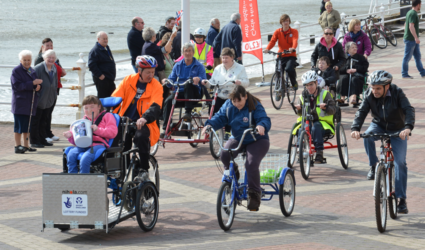Gearing Up To Celebrate Cycling For All At Open Day