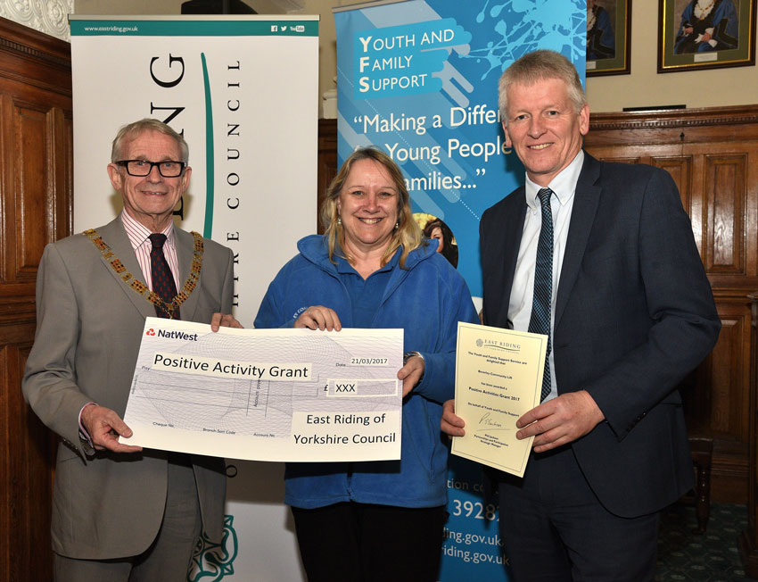 Voluntary Organisations In Beverley Benefit Positive Activities Grants
