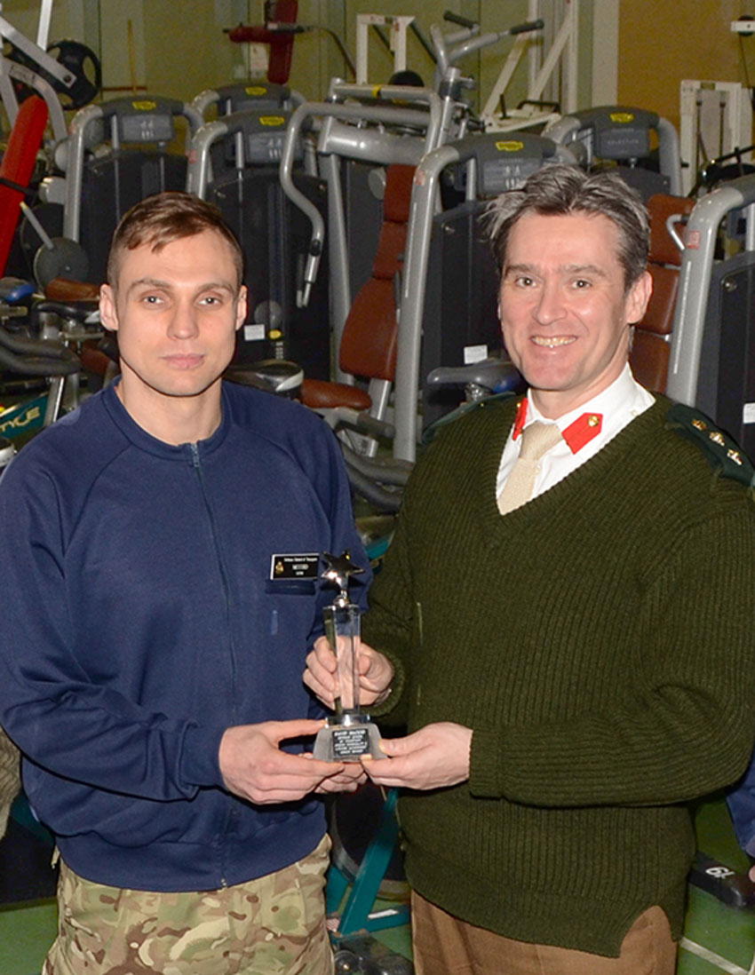 Sports Personality And Lifetime Achievement Award For Ex-Soldier