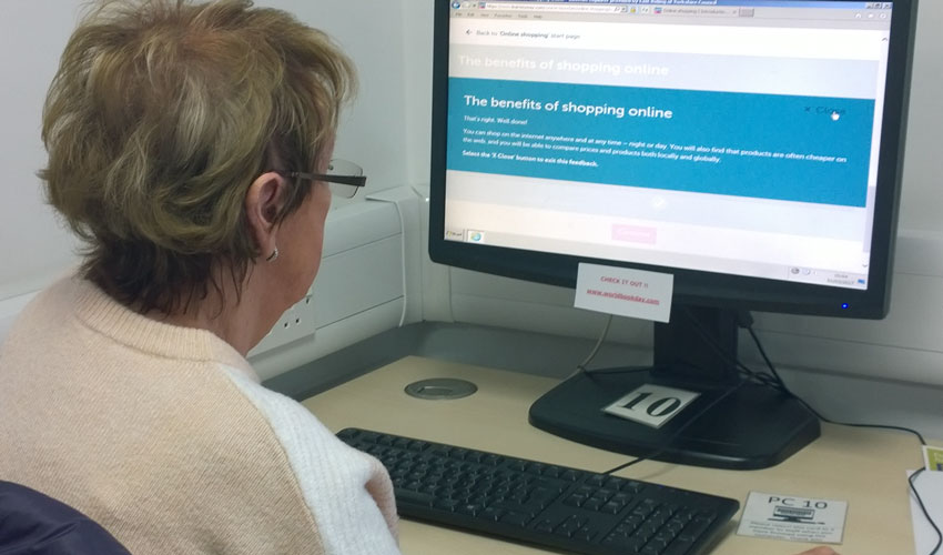 Council's Digital Champions Support Residents To Get Online