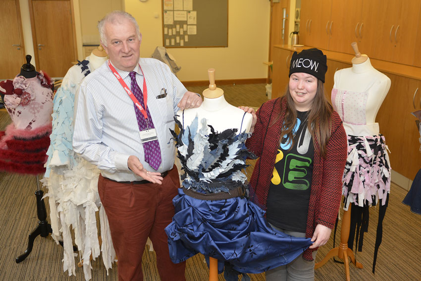 Fashion Competition Gives Old Bedding New Lease Of Life