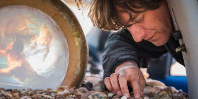 Artist Chris Dobrowolski Brings Hull's Beaches To The Deep Car Park,