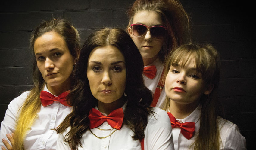 Shakers - A Wickedly Funny Glimpse Of The World Through The Eyes Of The Four Girls