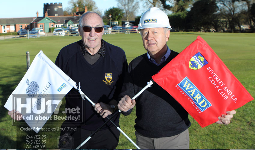 Peter Ward Homes Sponsors Beverley And East Riding Golf Club