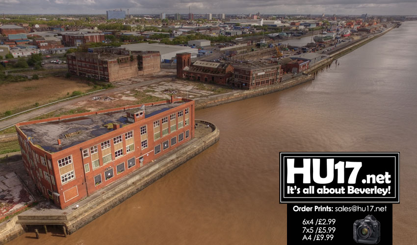 PHOTOS : Lord Line & St Andrew's Dock – From Above