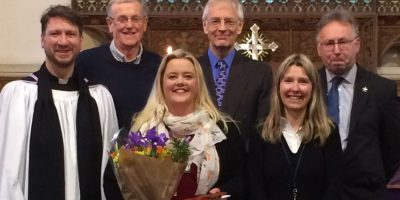 Commissioning Service For New Headteacher At Cherry Burton School