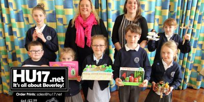 Dee Atkinson & Harrison Celebrate Easter With Local School