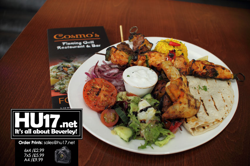 Cosmo's Bring A Taste Of The Mediterranean To Beverley's Latin Quarter