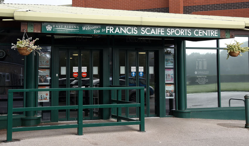 East Riding Leisure Francis Scaife To Benefit From Major Improvements