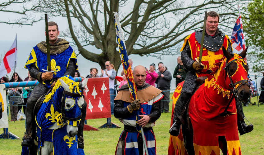Medieval Jousting At Sewerby Hall And Gardens