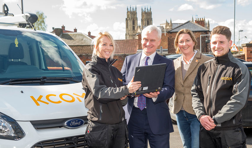 Beverley Set To Become The Fastest Broadband Town In The UK