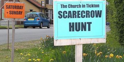 Tickton Scarecrow Hunt To Follow 'Village of Culture' Theme