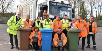Waste Management Team Nominated For National Recycling Award