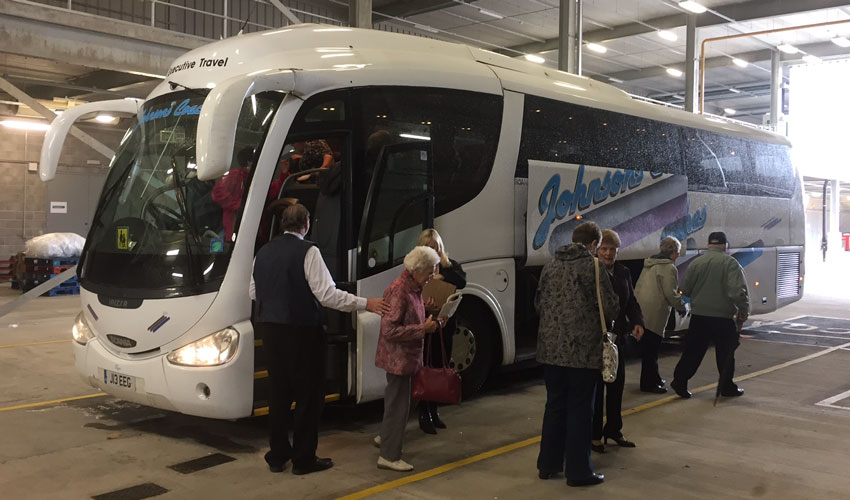 Coach Drivers Offered Complementary Meal and Film While Passengers Visit The Town